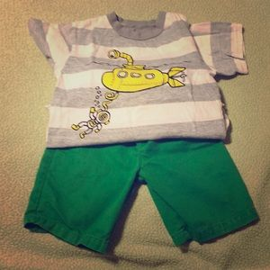 Boy's Short Outfit